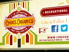 Choice Organics Billboard