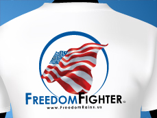 FreedomRains.us T-Shirt Design